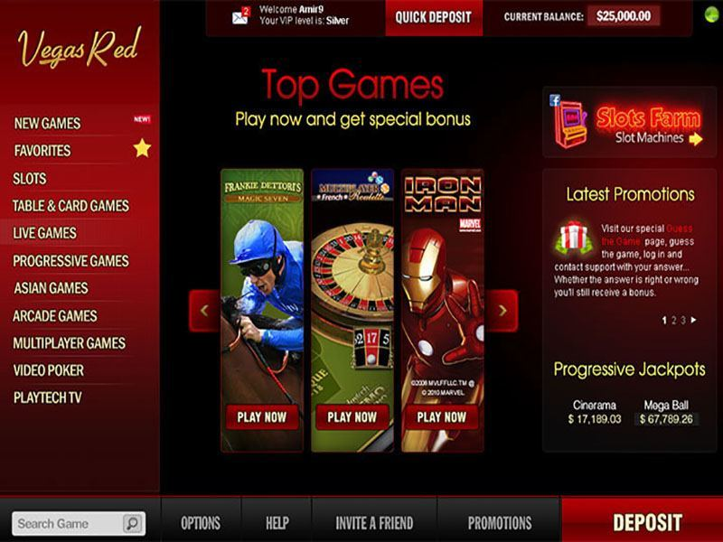 silversands online casino poker