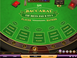 Baccarat screenshot