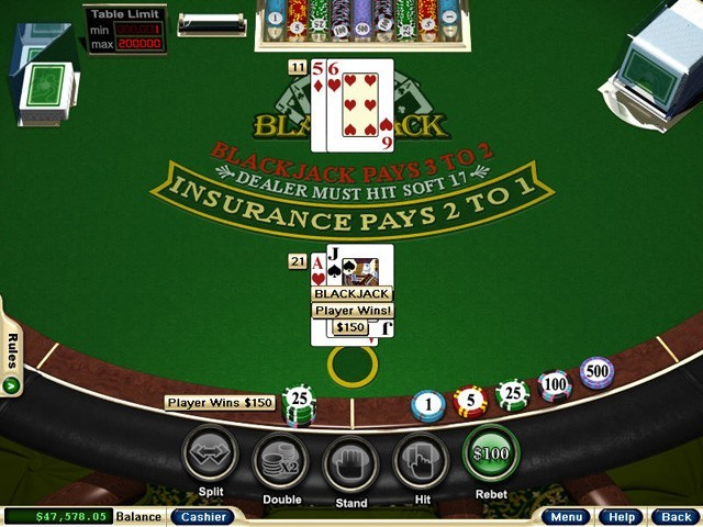 Play Half Double Blackjack Online at Casino.com South Africa
