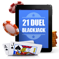 21 Duel Blackjack in SA
