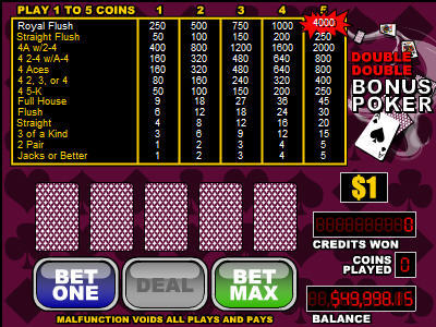 Poker Single screenshot